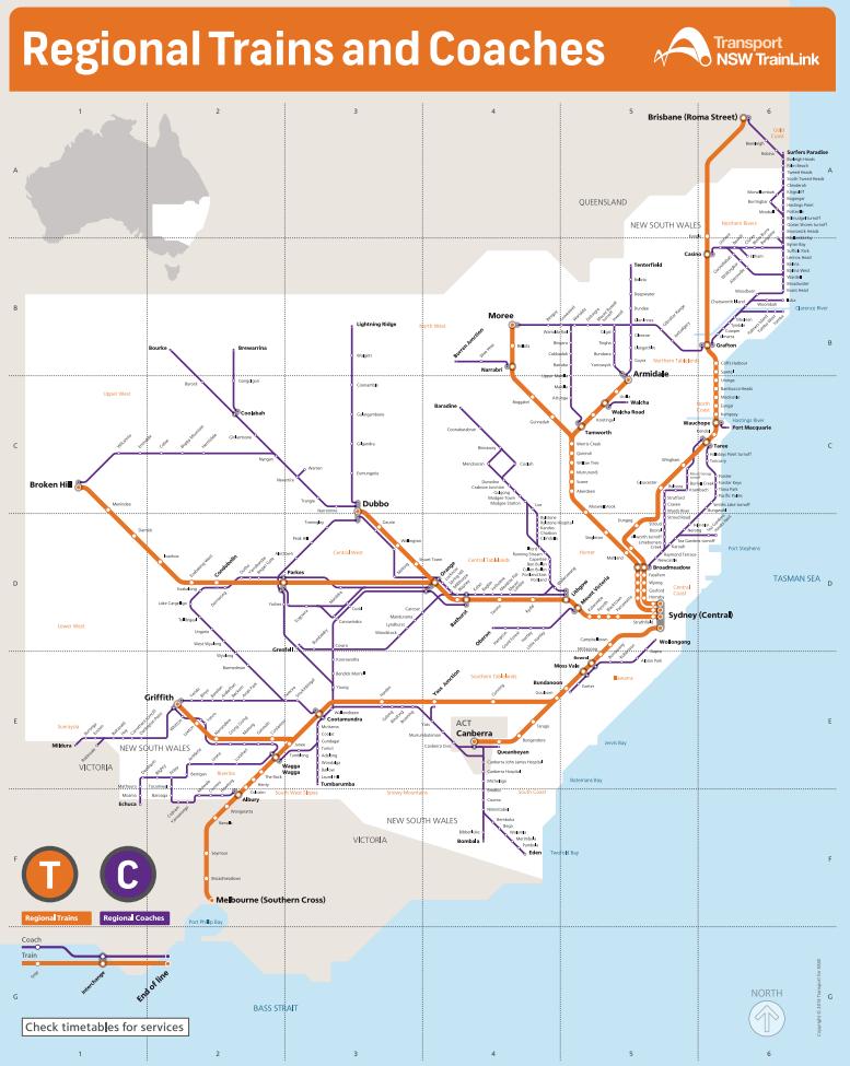 NSW TrainLink Here we gOz