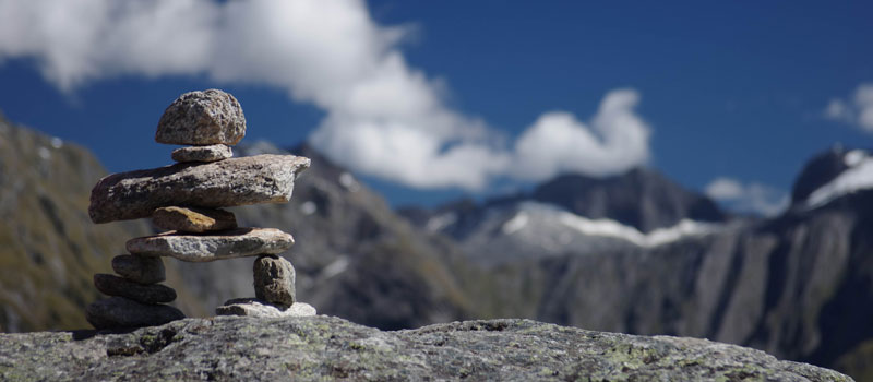Our inukshuk